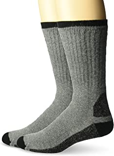 product image for Wigwam Men's At Work Double Duty 2-Pack Crew Length Work Sock