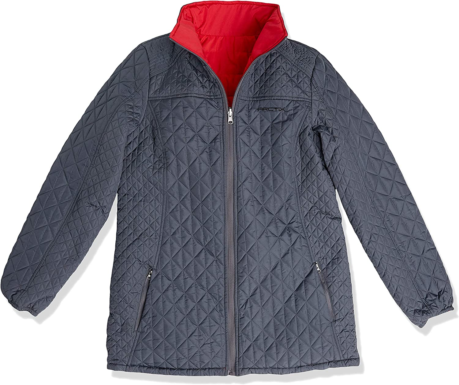 Arctix Women's Kaylee Ultralite Reversible Quilted 3/4 Length Jacket