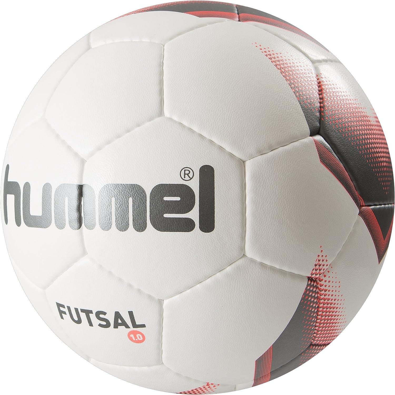 hummel Fußball 1.0 Futsal - Balón de fútbol Sala, Color Blanco ...