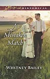 A Mistaken Match (Love Inspired Historical)