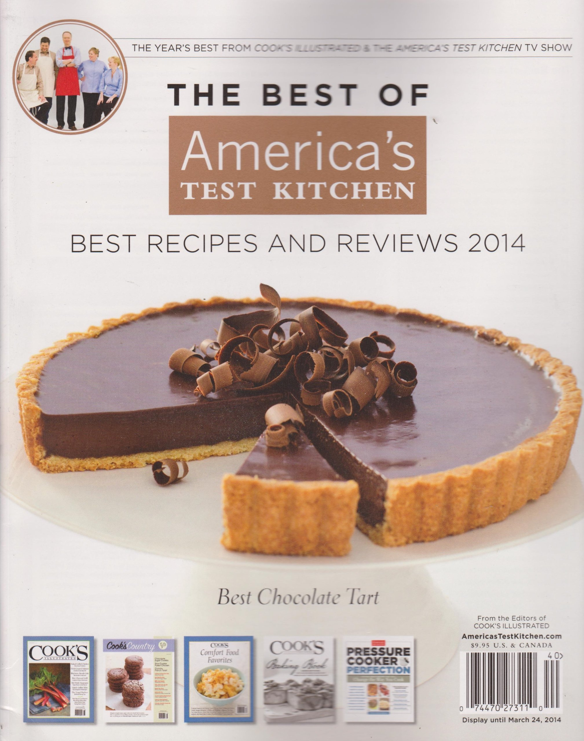 Download The Best of America's Test Kitchen Best Recipes and Reviews 2014 Magazine ebook