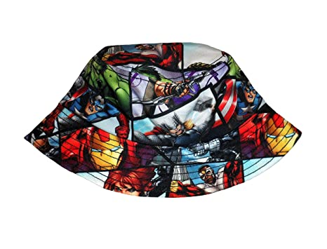 Image Unavailable. Image not available for. Color  Marvel Avengers  Sublimated Bucket Hat d3b6efd0d52