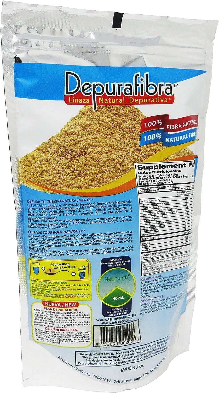 Amazon.com: depurafibra Natural Suplemento dietético 16 oz ...