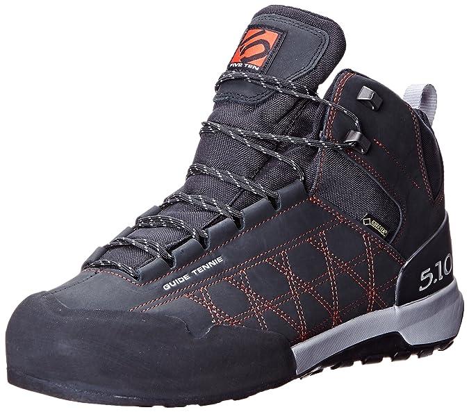 Five Ten Guide Tennie Mid GTX chaussures de marche black/red  Camel Nubuck avviquoD