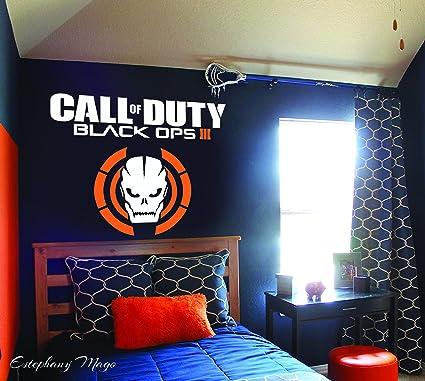 Amazon Com Call Of Duty Black Ops Iii Custom Wall Decal Bedroom Art