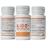 Kids Probiotics, 60-Day Supply. Easy to Swallow Daily Pearl Probiotic for Kids. Sugar Free Childrens Probiotic, 15x More Effective than Gummies. Antibiotic Recovery Probiotic for Children