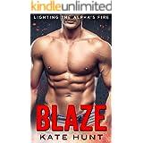 Blaze: A BBW Instalove Romance (Lighting The Alpha's Fire Book 1)