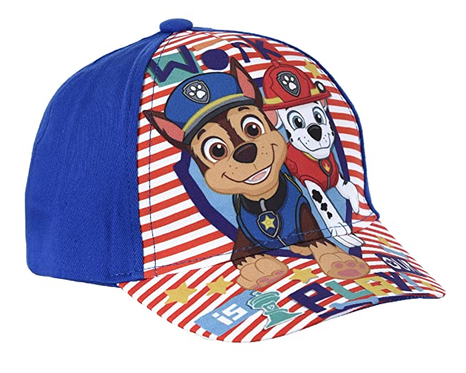 765af83a Kids Boys Girls Official Paw Patrol Baseball Caps Summer Hats Ages 2-8 (52