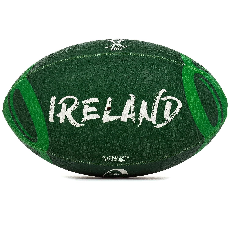 Copa del Mundo de Rugby STEEDEN Liga 2017 Irlanda partidario balón ...
