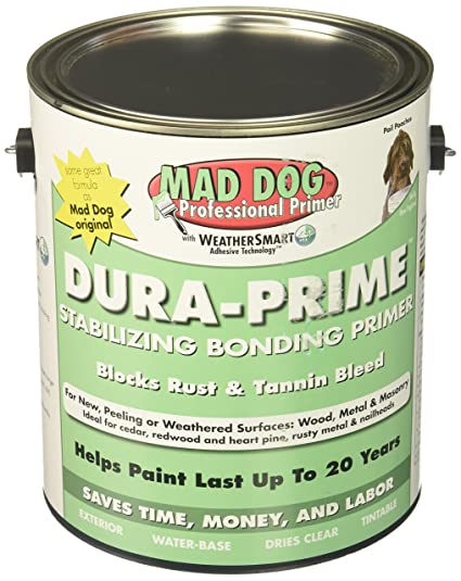 Relatively MAD DOG MDP100 Exterior Primer Stops Peeling Rust & Tannin, 1  XR15