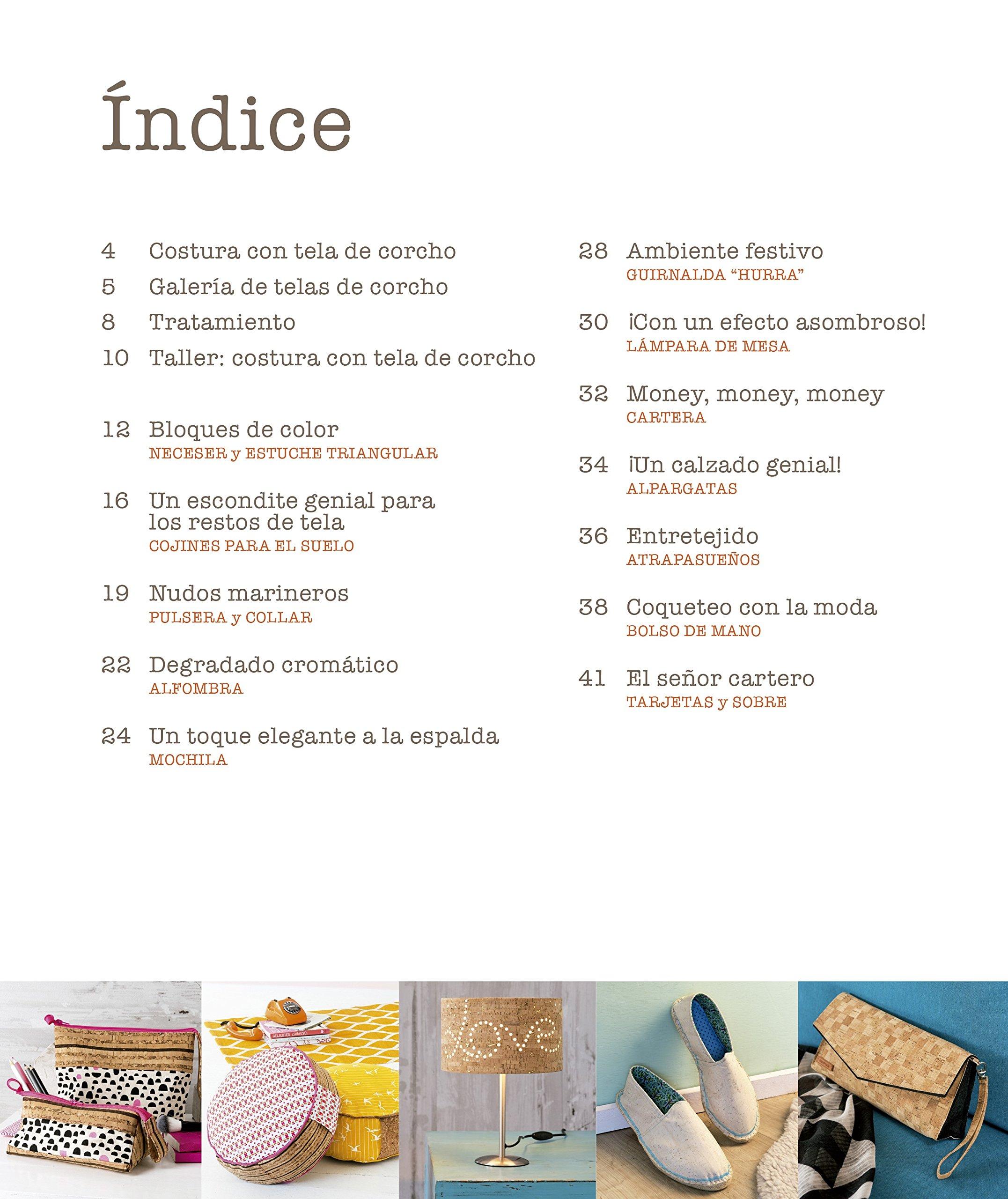 Costura con tela de Corcho: VARIOS AUTORES: 9788498745535: Amazon.com: Books