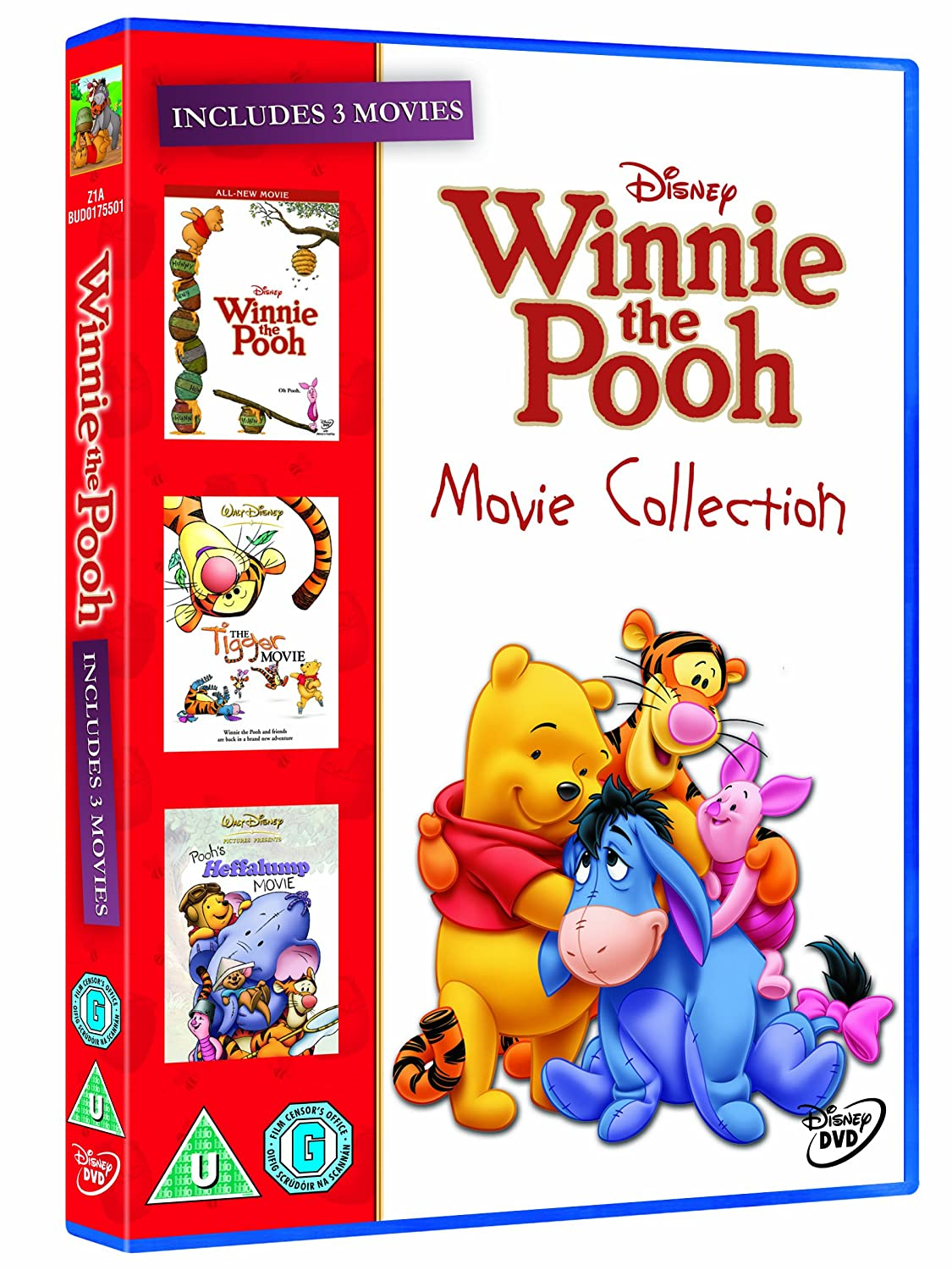 The Winnie the Pooh Movie Collection (Winnie the Pooh Movie/ Heffalump Movie/ Tigger Movie) [Region 2] [UK Import]