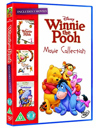 7633a4db6990 The Winnie the Pooh Movie Collection (Winnie the Pooh Movie  Heffalump  Movie  Tigger