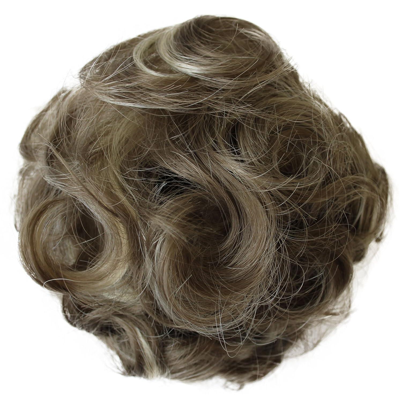 PRETTYSHOP Moño, Postizo, Trenza, Moño de estilo Hepburn, Coletero, Peinado alto, varios colores D2 D2_613