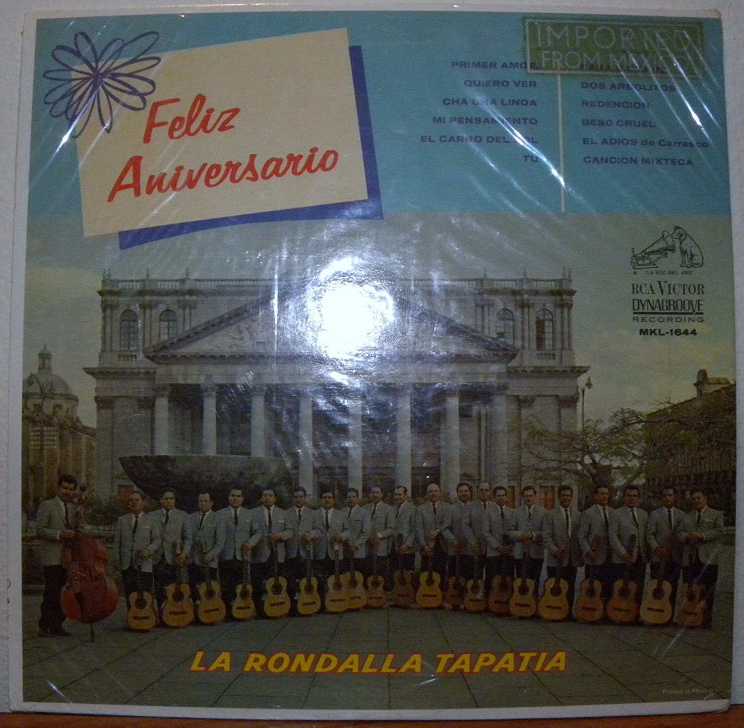 La Rondalla Tapatia - Feliz Aniversario, 22 Voices 22 Guitars - Amazon.com Music
