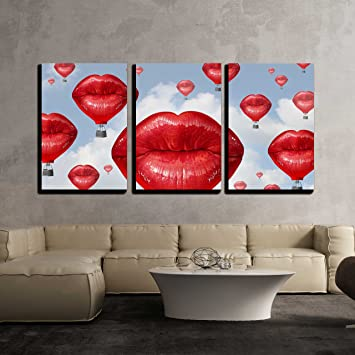 Amazon.com: Wall26-3 - Lienzo decorativo para pared: Home ...