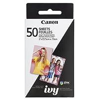 Canon IVY ZINK photo printer paper, 50 sheets