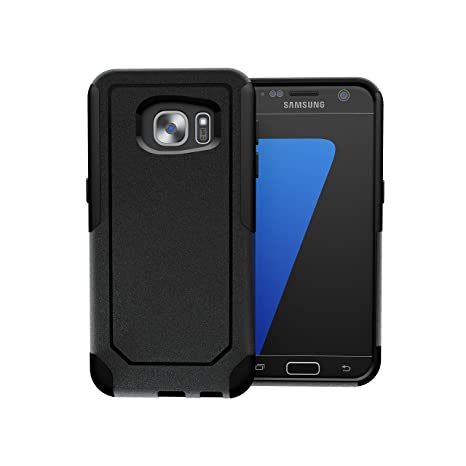 Otterbox Defender Vs Commuter >> Toughbox Galaxy S7 Case Commute Series Shockproof Slim Rugged Black For Samsung Galaxy S7 Case Fits Otterbox Defender Commuter