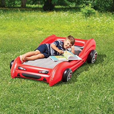 Walmart Ozark Trail Kids Race car airbed: Kitchen & Dining