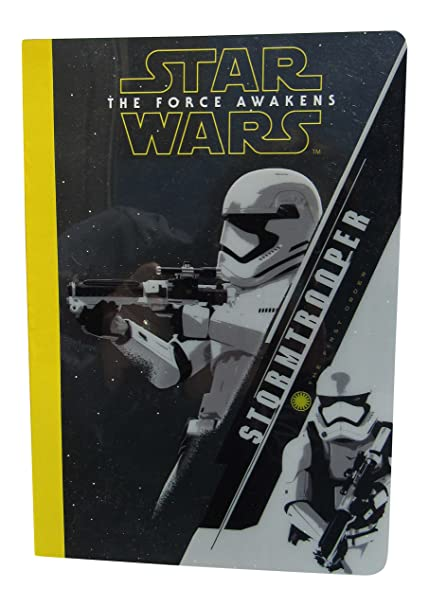 Disney Star Wars Episode VII The Force Awakens - Stormtrooper Journal Notebook - 220 Pages - College Ruled - 8 x 5 Inches