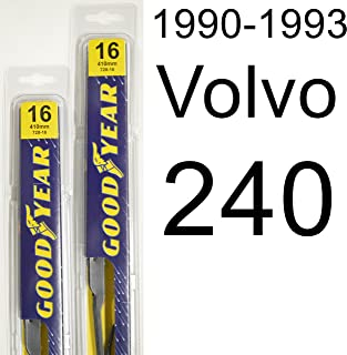 "product image for Volvo 240 (1990-1993) Wiper Blade Kit - Set Includes 16"" (Driver Side), 16"" (Passenger Side) (2 Blades Total)"