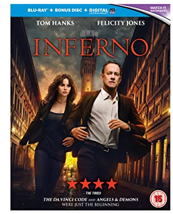 Inferno 2016 BluRay 720p 580MB Dual Audio 5.1 ( Hindi – English ) ESubs MKV