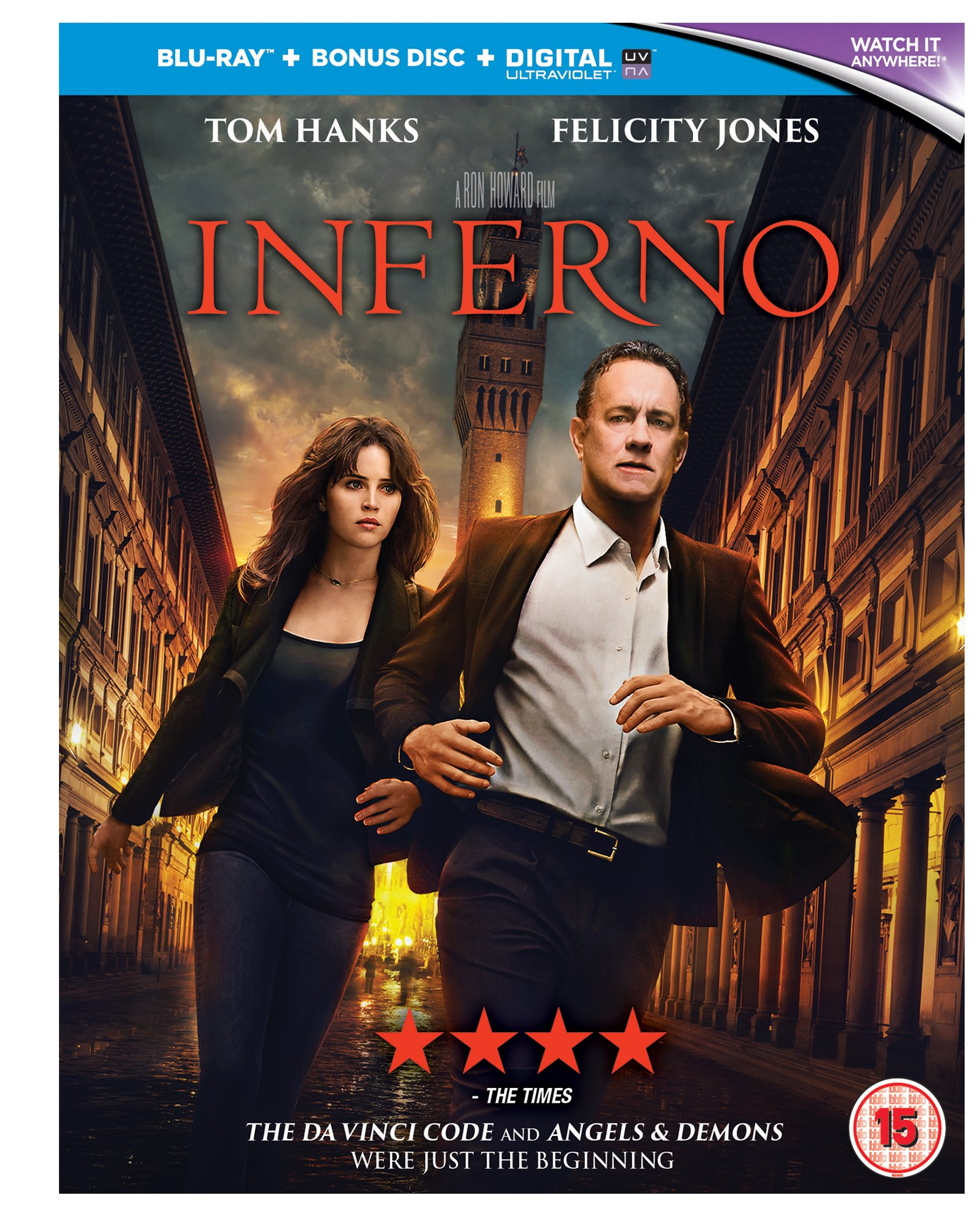 Inferno [Blu-ray] [2016] [Region Free]