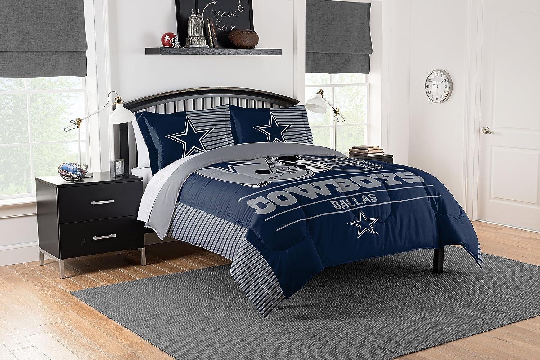NFL Draft Full/Queen Comforter and 2 Sham Set