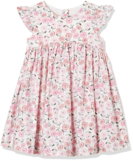 9a51db84604 Mothercare Baby Girls  A-Line Knee-Long Dress  Amazon.in  Clothing    Accessories