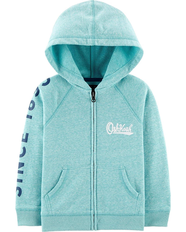 OshKosh BGosh Boys Full Zip Logo Hoodie