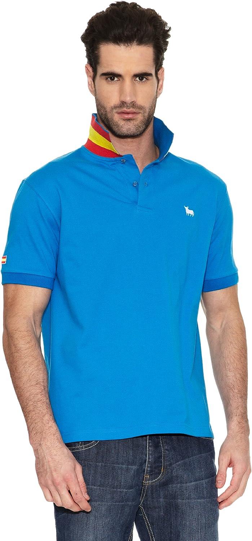 TORO Polo Bandera España Azul Marino XL: Amazon.es: Ropa