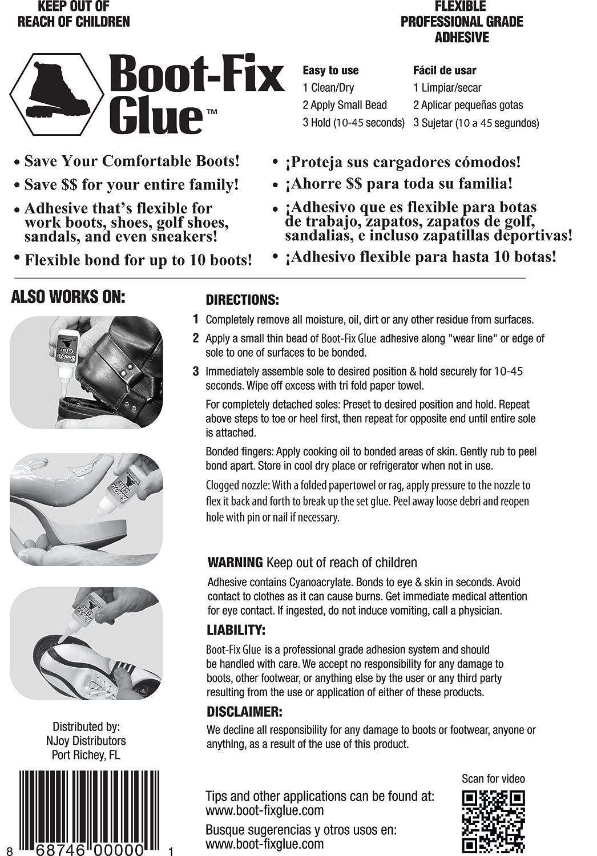 Amazon.com: Boot-Fix Shoe Glue: Instant Professional Grade Shoe ...