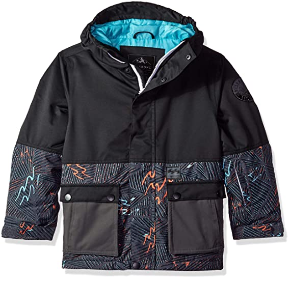 Amazon.com  Billabong Fifty 50 Boys Insulated Snow Jacket  Clothing 9ebe785d1a0