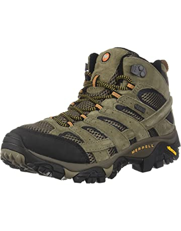 20c86e76af6 Merrell Men s Moab 2 Mid Waterproof Hiking Boot