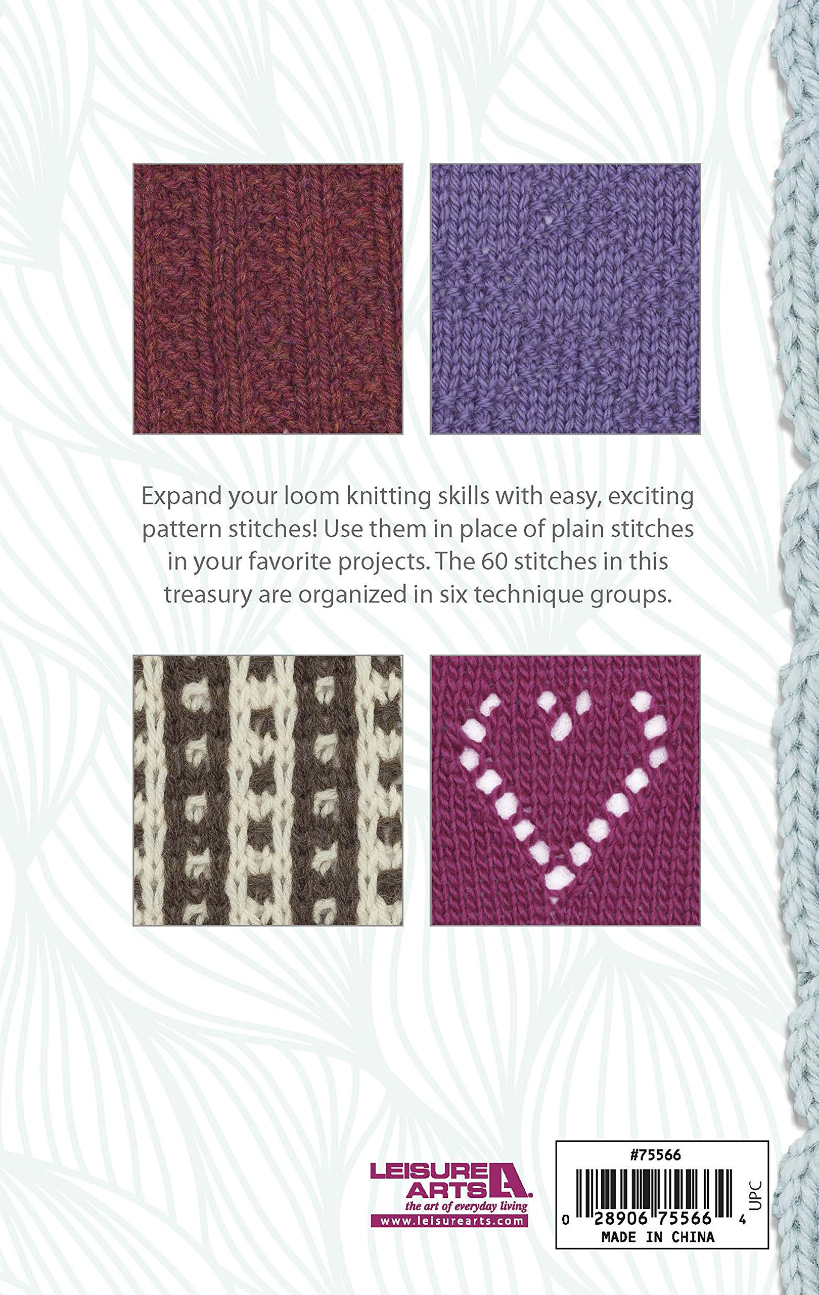 Loom, Knit, Stitch Dictionary: Amazon.co.uk: Kathy Norris ...