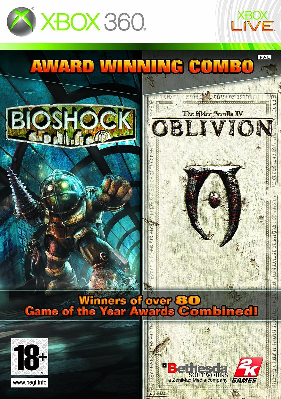 Take-Two Interactive BioShock + The Elder Scrolls IV: Oblivion - Double Pack (Xbox 360) vídeo - Juego (Xbox 360, Acción / RPG)