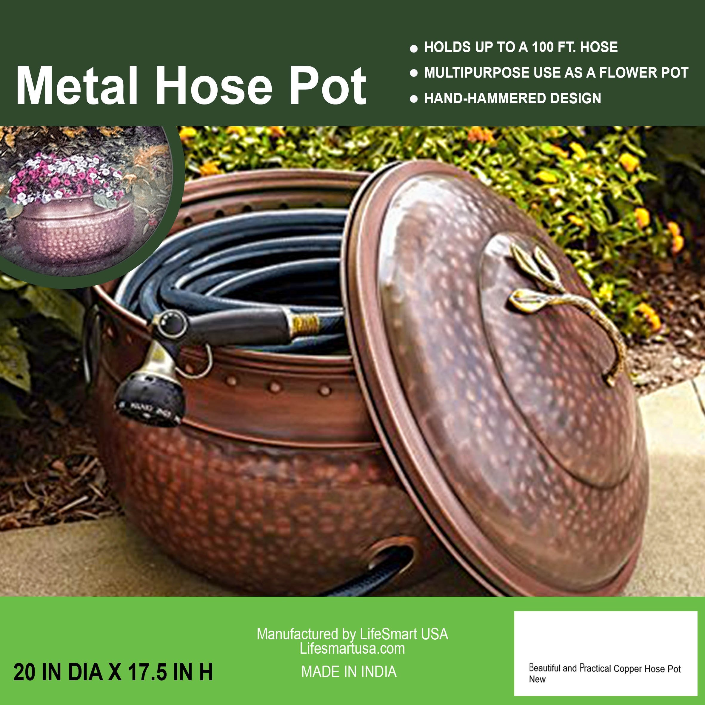 beautiful and practical Copper Hose Pot by Copper
