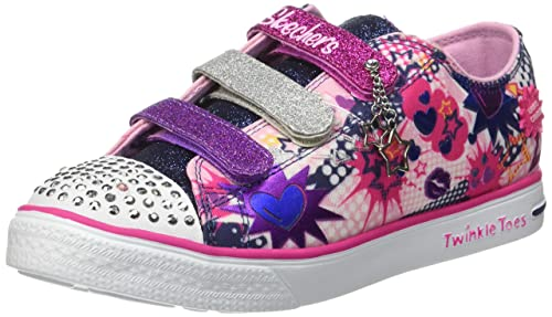 Skechers Twinkle Breeze Pop Tastic - Zapatillas de Deporte Niñas: Amazon.es: Zapatos y complementos