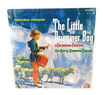 Christmas Drummer Boy.The Little Drummer Boy A Christmas Festival Original Recording Reissued
