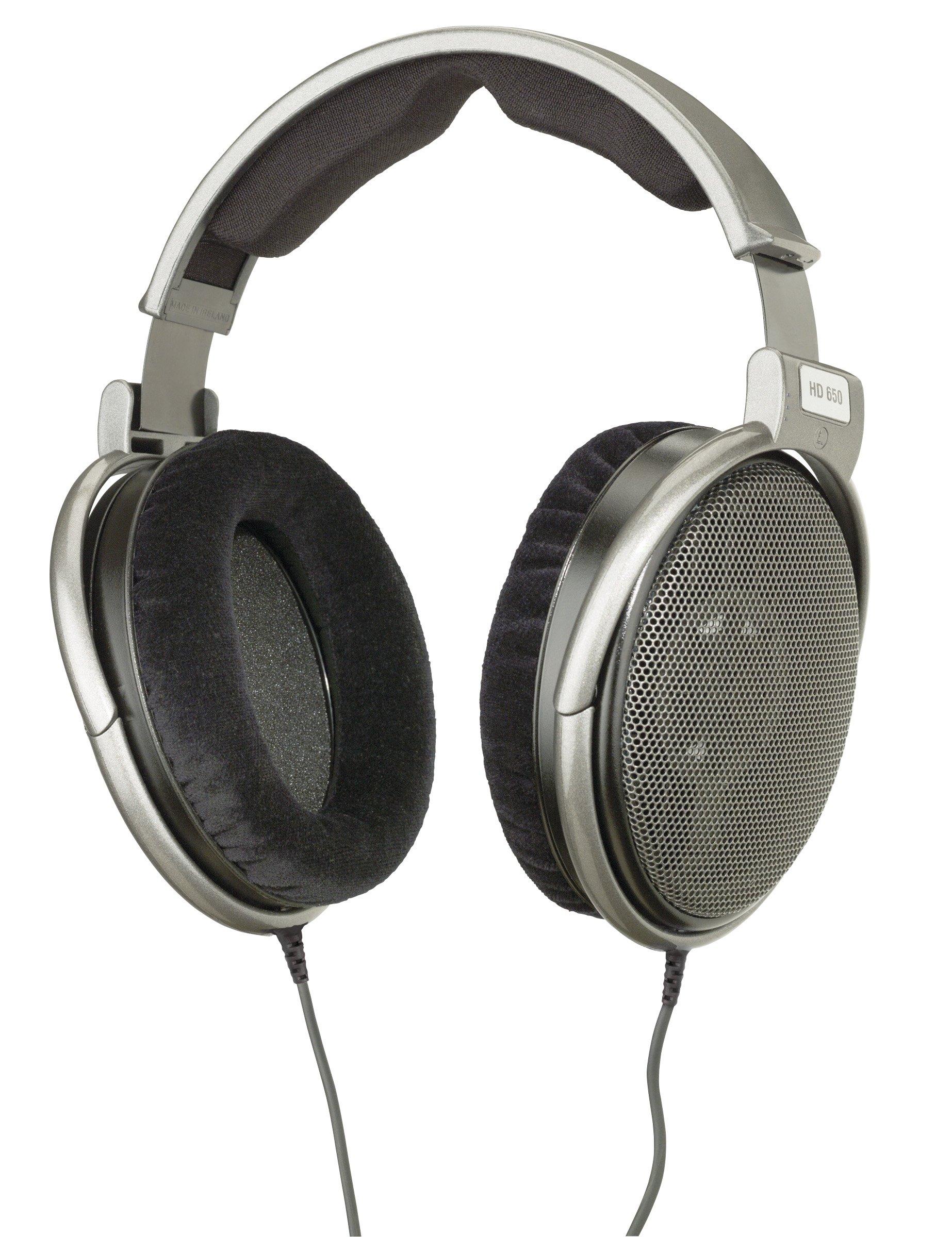 Sennheiser HD 650 Open Back Professional Headphone by Sennheiser Pro Audio