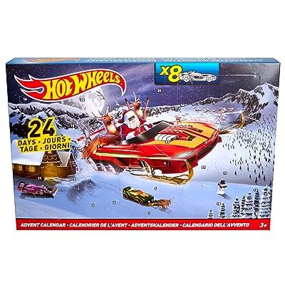 Hot Wheels Advent Calendar: Toys & Games
