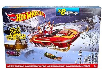Weihnachtskalender Hot Wheels.Mattel Hot Wheels Advent Calendar Dmh 53