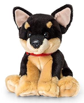 Peluche chien Signature Puppies Chihuahua, assis env. 35 cm en kit avec Beurre pour