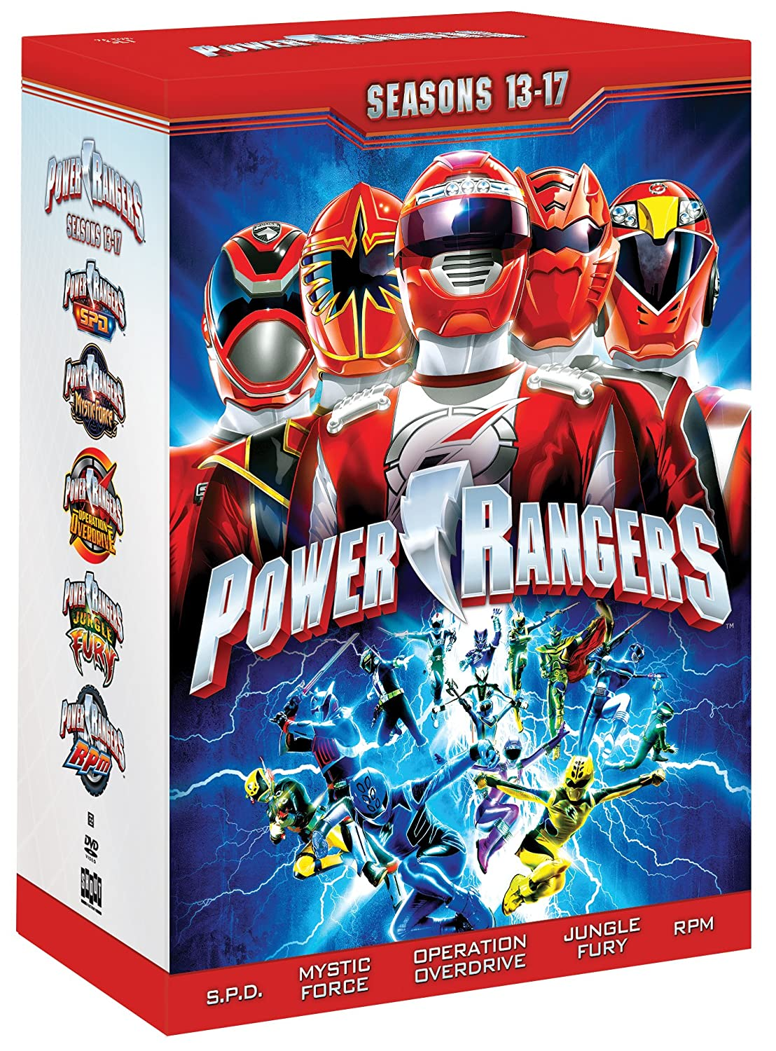 Power Rangers: Season 13-17 [Reino Unido] [DVD]: Amazon.es: Cine y Series TV