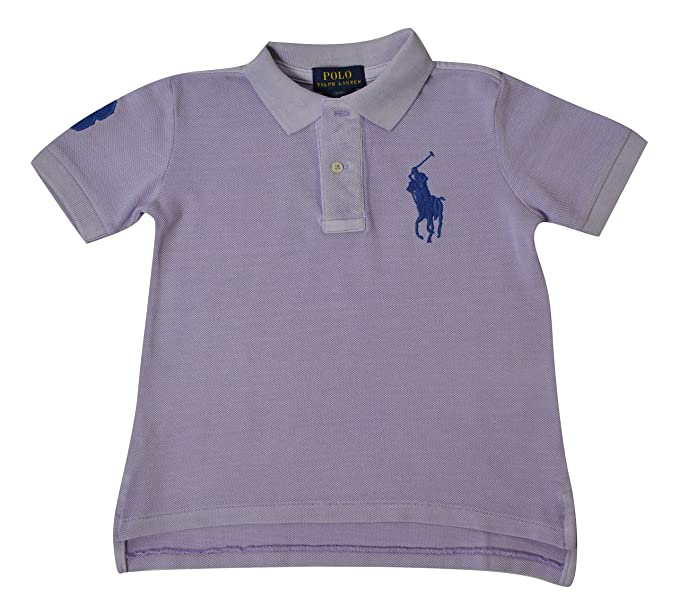premium selection 3c075 14a29 Polo Ralph Lauren Boys' Polo Shirt - Purple - 2 Years ...