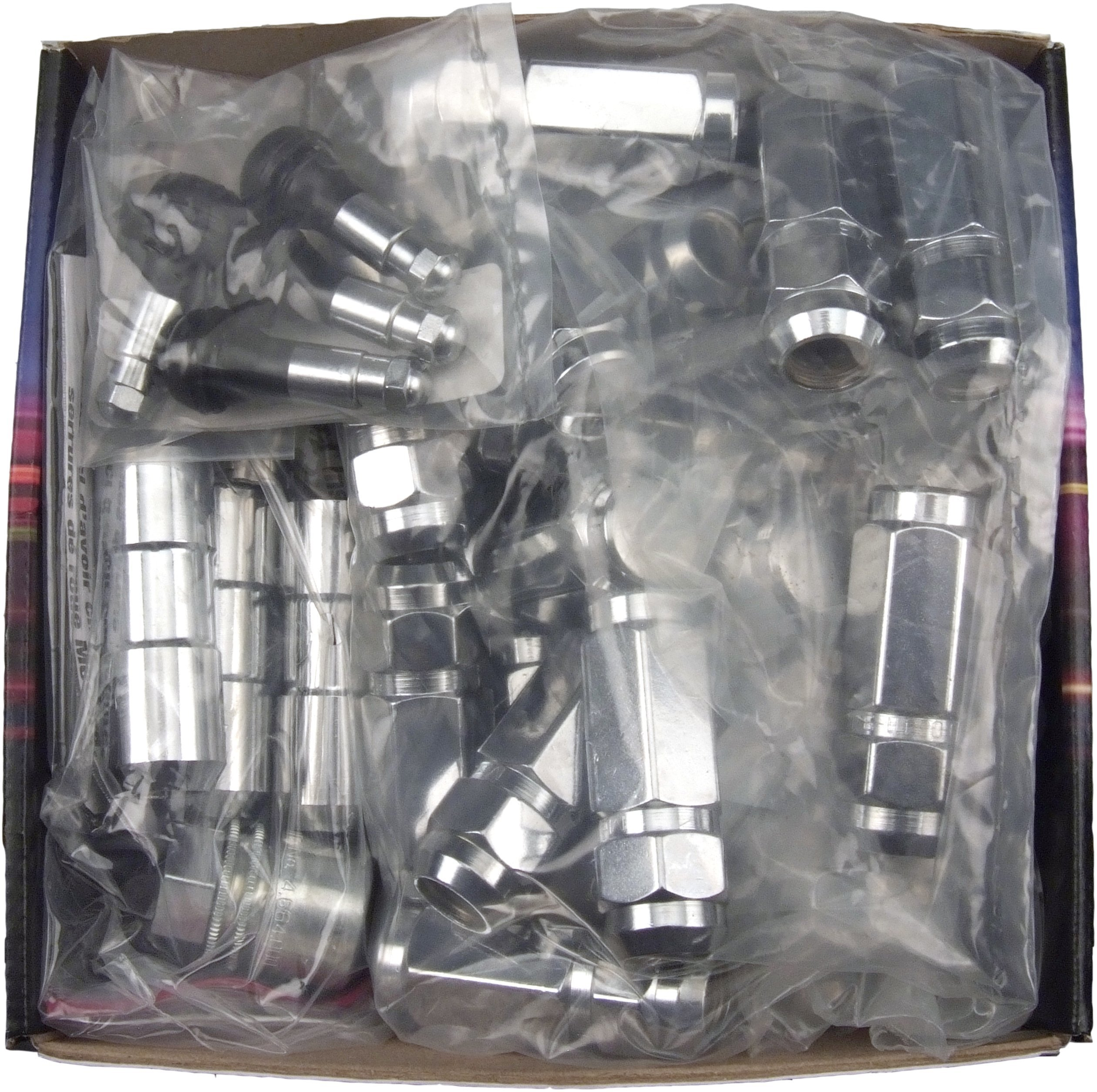 McGard 84834 Chrome Cone Seat Wheel Installation Kit (9/16 - 18 Thread Size) - For 8 Lug Wheels