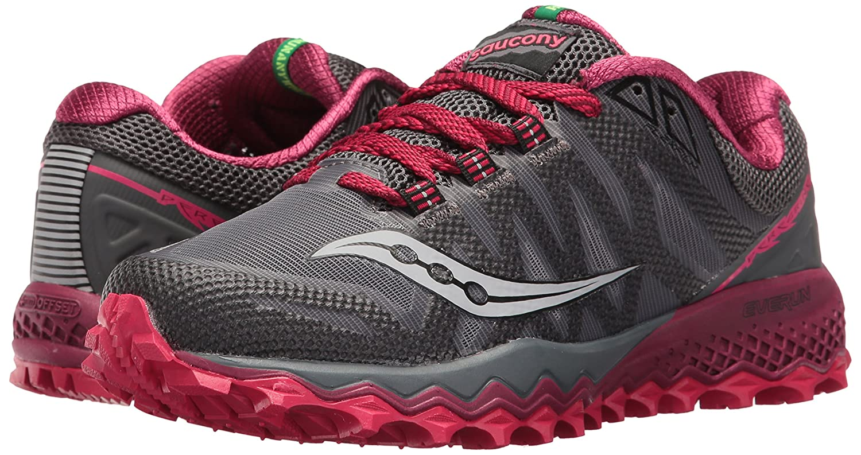 Saucony Women's Peregrine 7 Trail Running Shoe B01GJYDMPK 8 B(M) US|Grey Berry