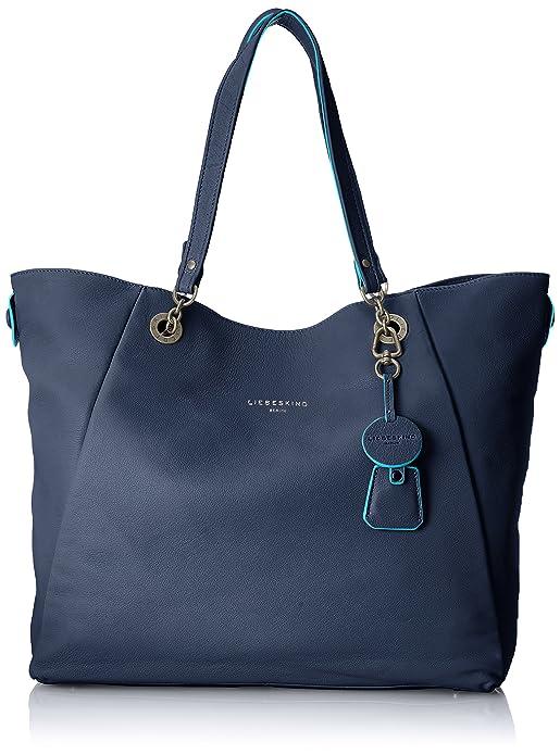 Liebeskind Berlin - Verdon Marivi, Mujer Shoppers y bolsos de hombro, Azul (Ink Blue), 15x39x35 cm (B x H x T): Amazon.es: Zapatos y complementos