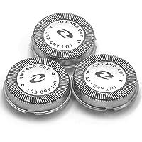 vhbw 3 x tête de Rasoir pour Rasoir Philips HQ7140, HQ7160, HQ7310, HQ7310XL, HQ7320, HQ7325, HQ7340, HQ7360, HQ7380, HQ7390, PT710, PT715