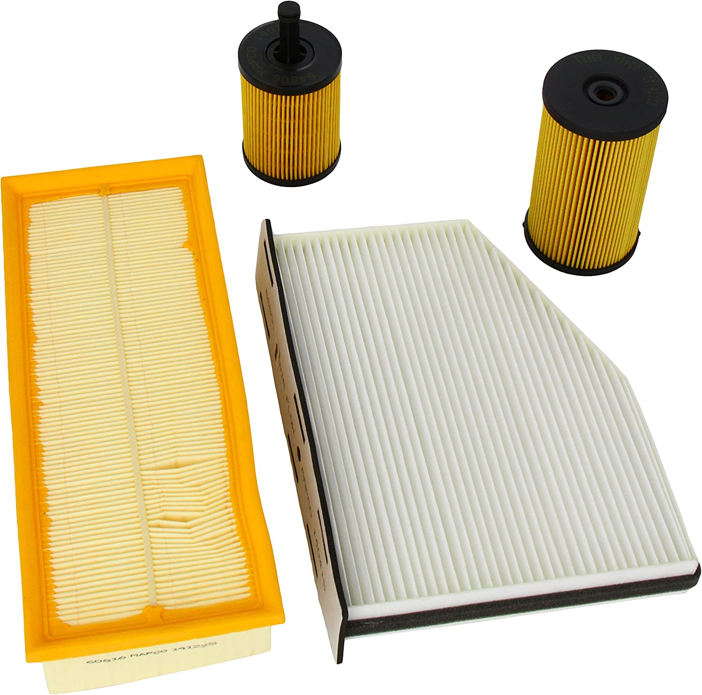 Mapco 68822 Filtersatz Ölfilter Luftfilter Pollenfilter Kraftstofffilter Auto